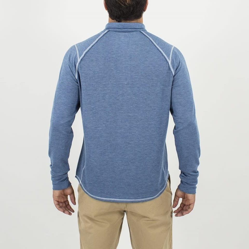 Toes on the nose Toes on the Nose Sea Silk Barrel Half Zip