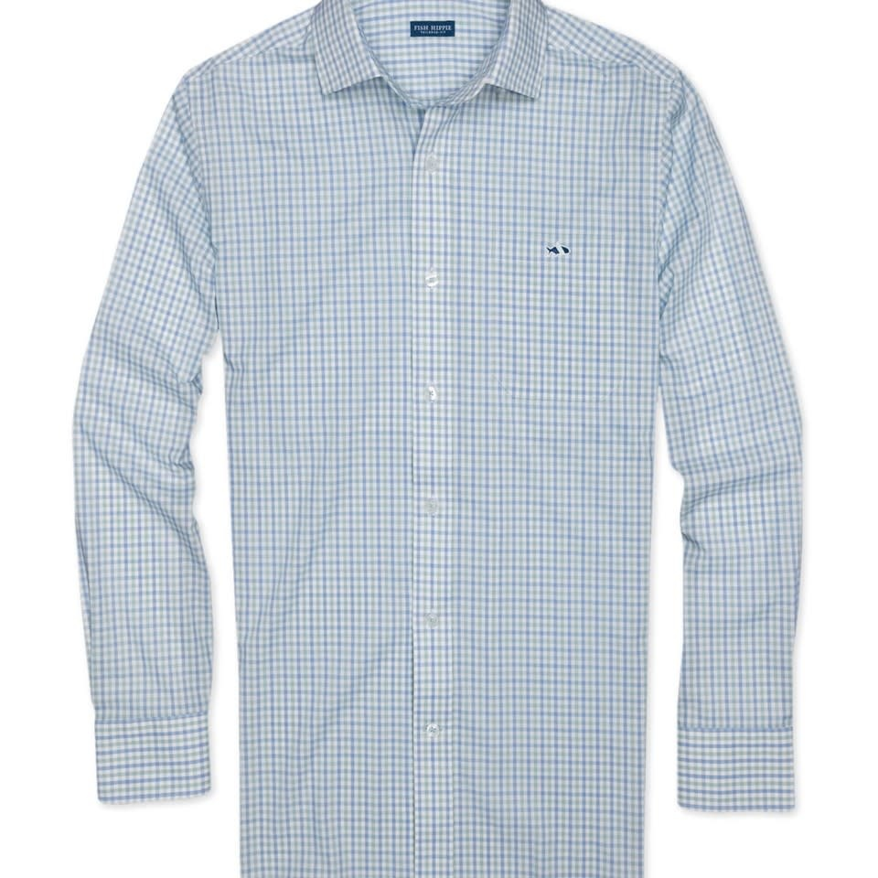 FISH HIPPIE Fish Hippie Swing Flat Check Button-Up