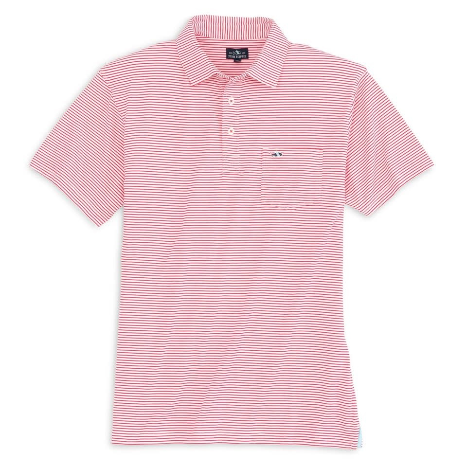 FISH HIPPIE Fish Hippie Pamlico Striped Polo