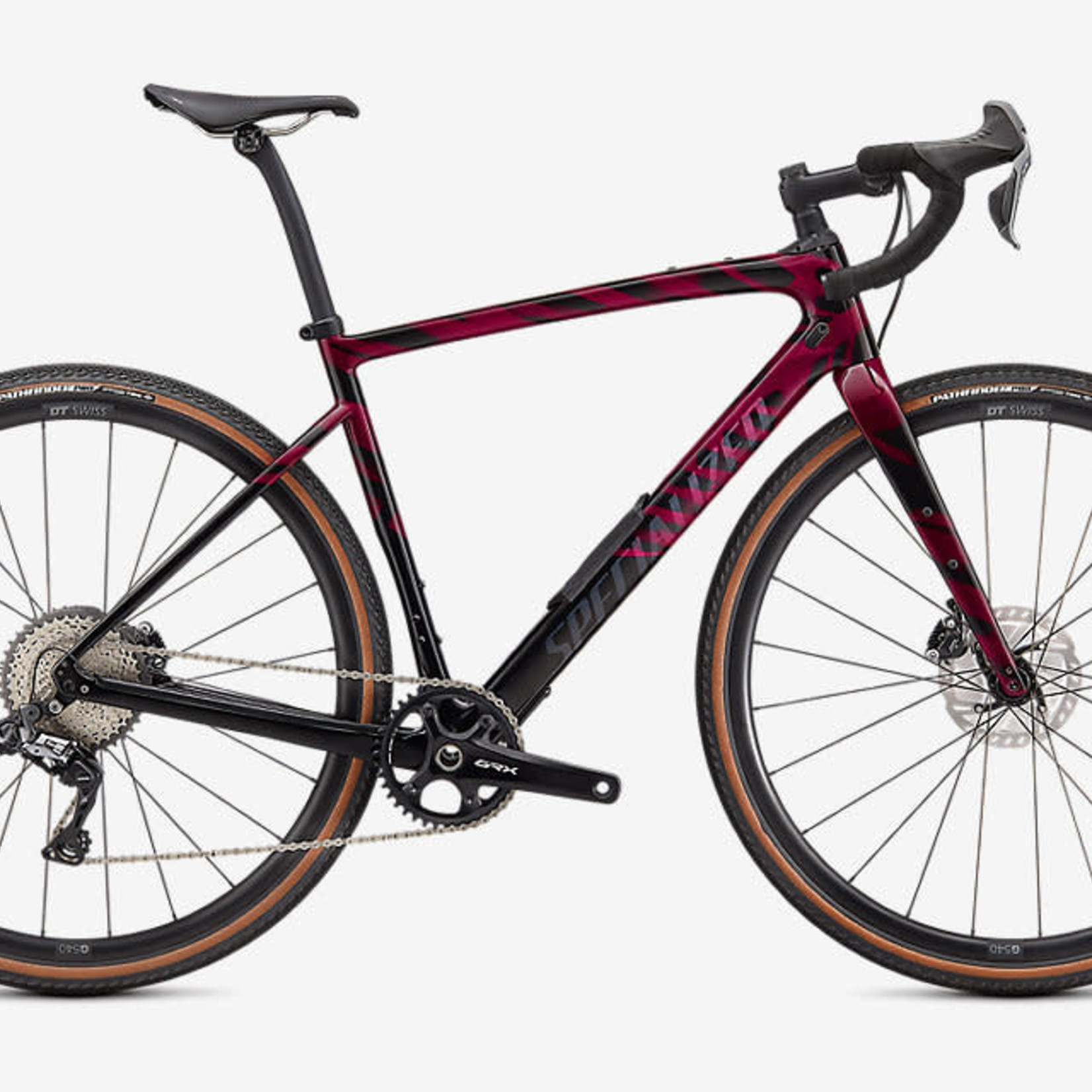 Specialized DIVERGE EXPERT CARBON RSBRY/REDWD/BLK 58