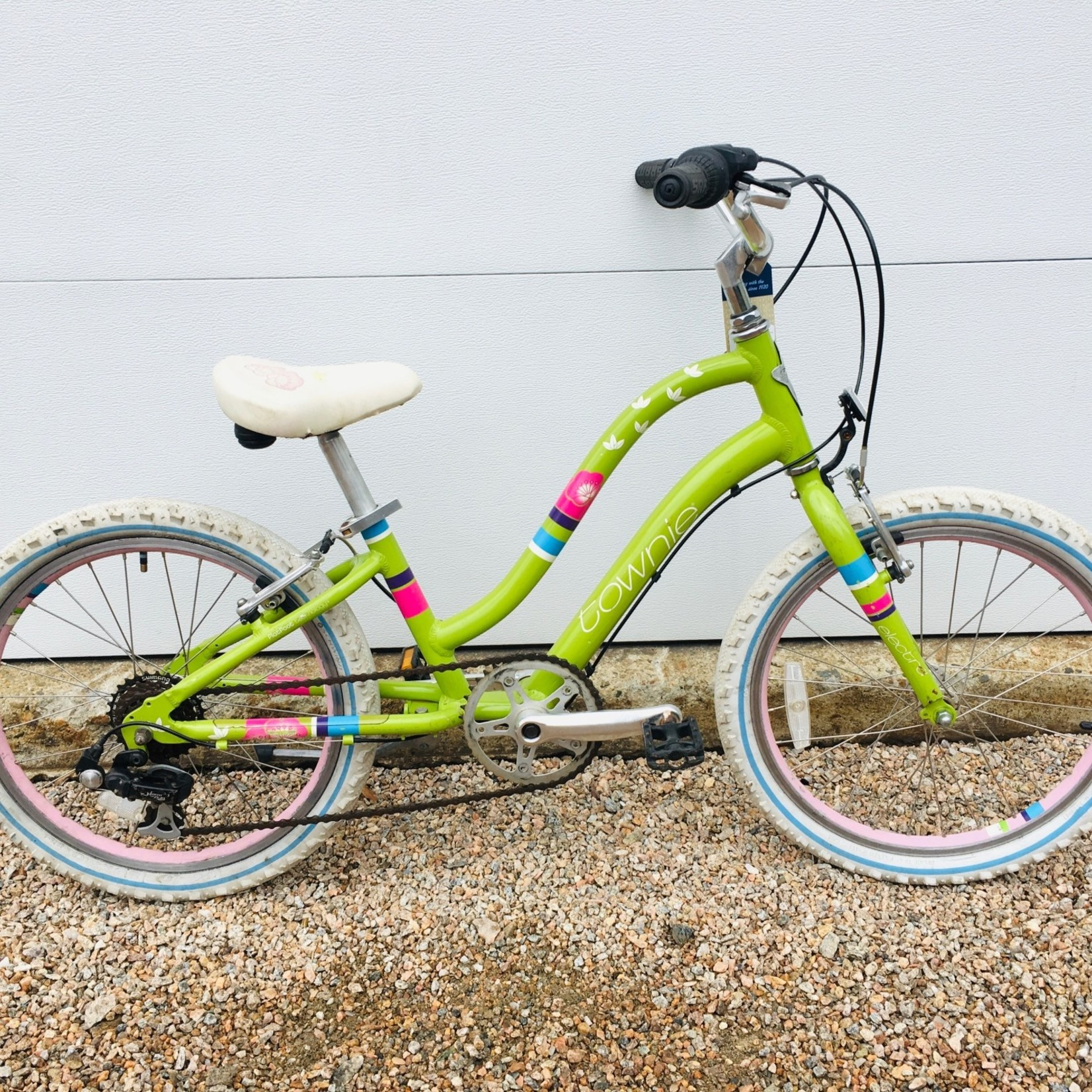 """Electra Bicycle Company Electra Townie 20"""" Grn USED"""