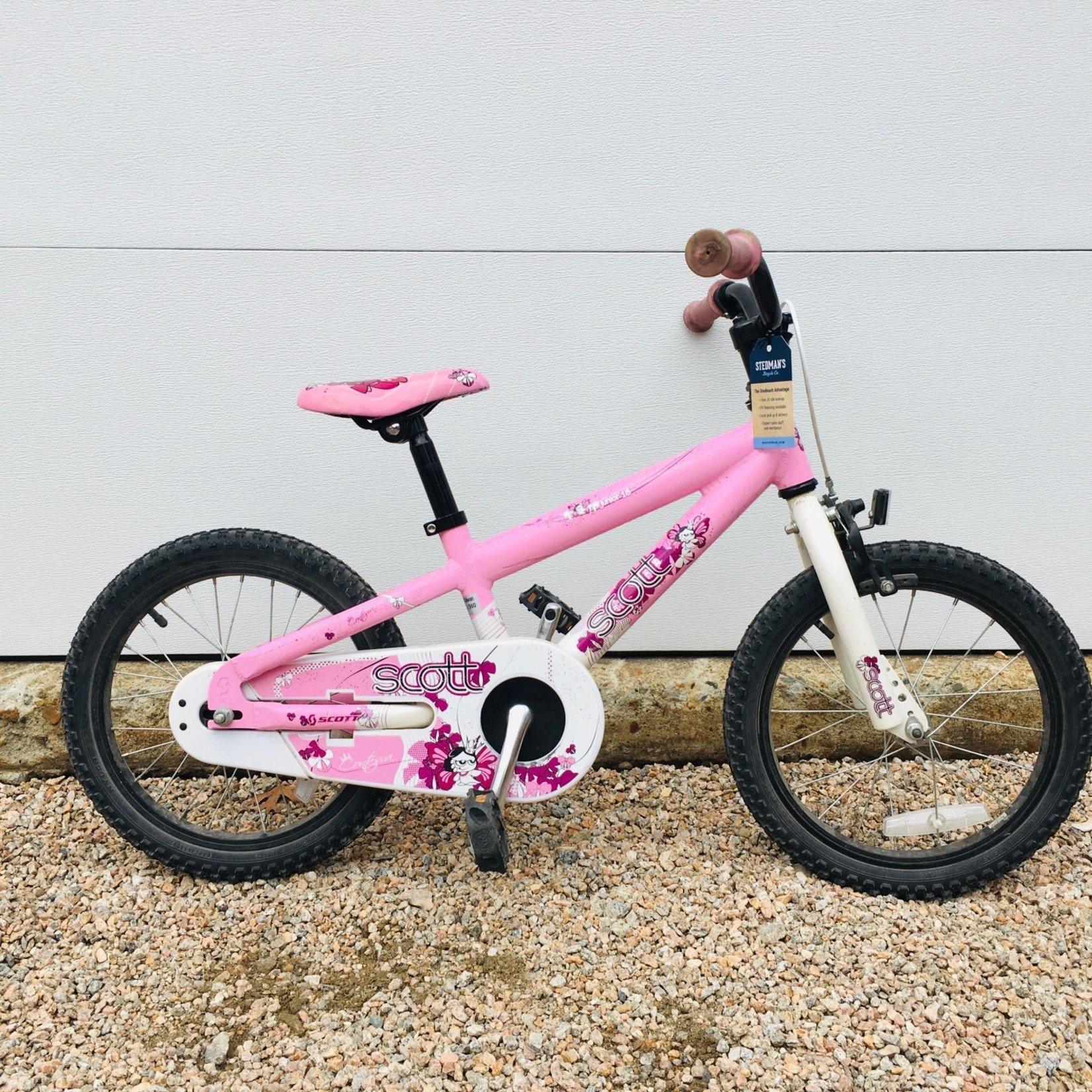 "Scott Scott 16"" Coaster Pink USED"