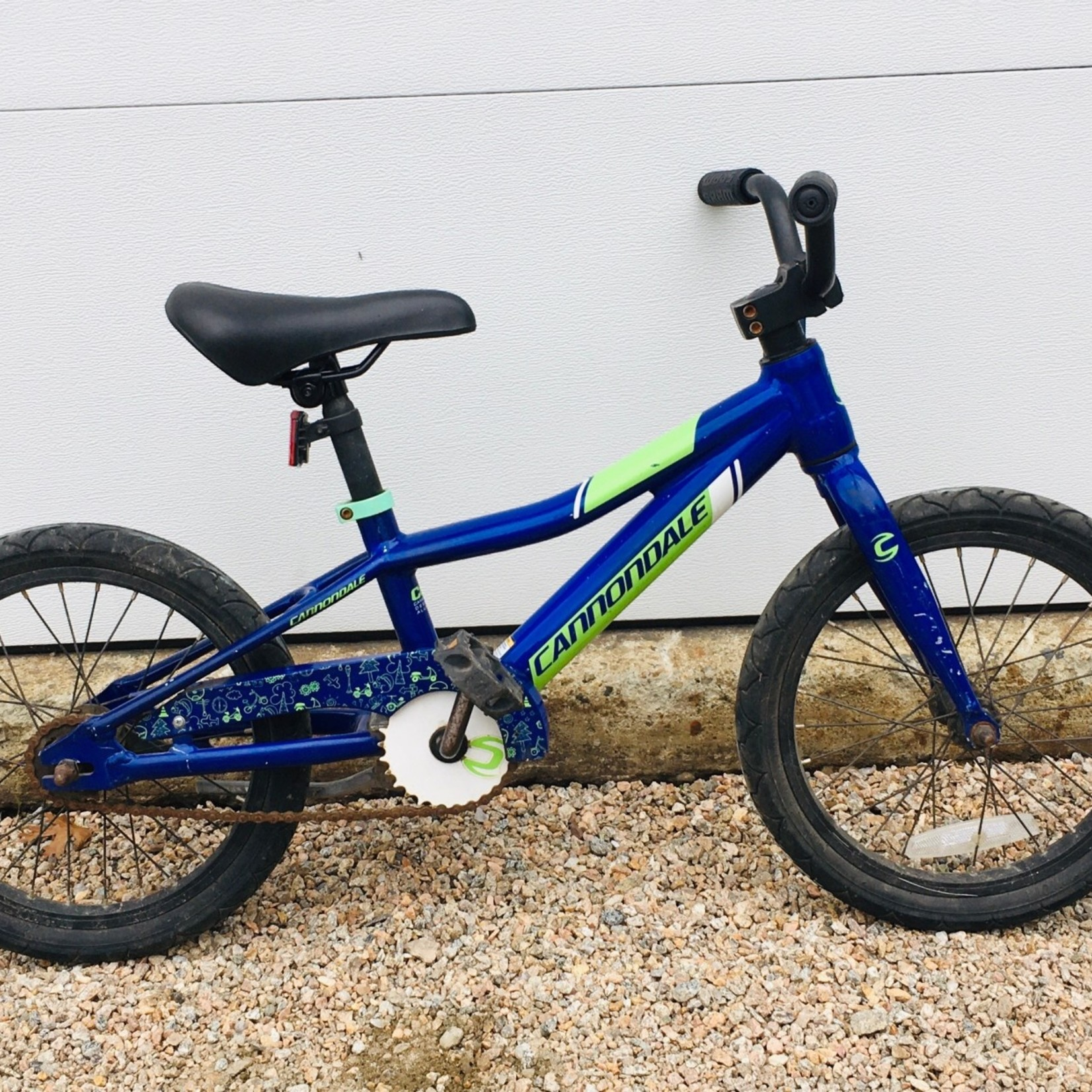 Cannondale Cannondale Trail 16'' Coaster Purple/Green USED