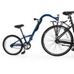 Burley Burley Kazoo Single Speed Trailercycle: Blue