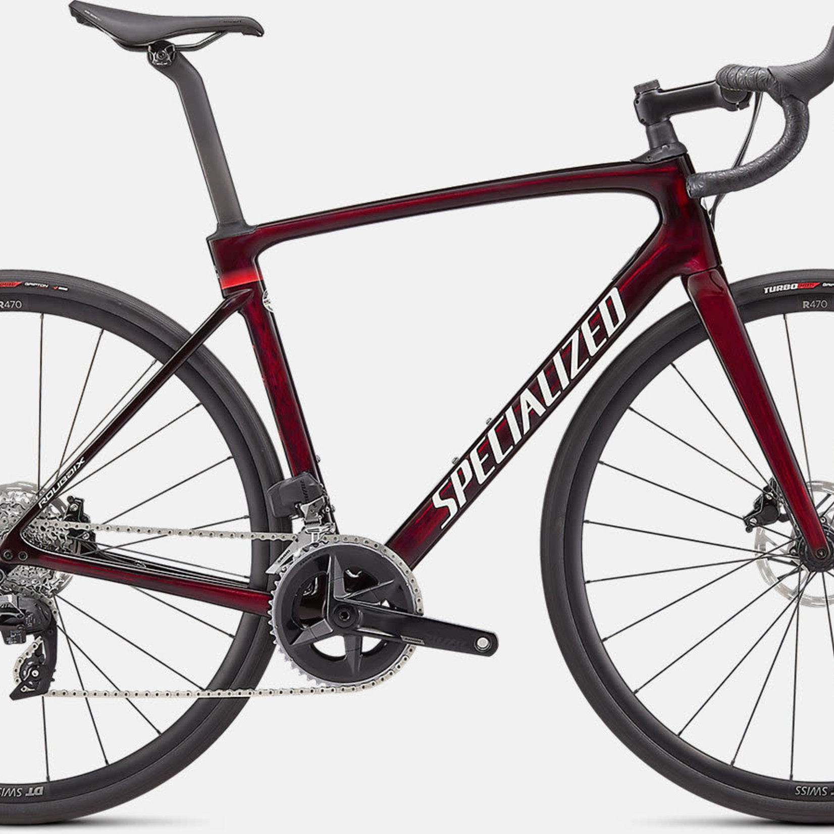 Specialized ROUBAIX COMP REDTNT/METWHTSIL 52
