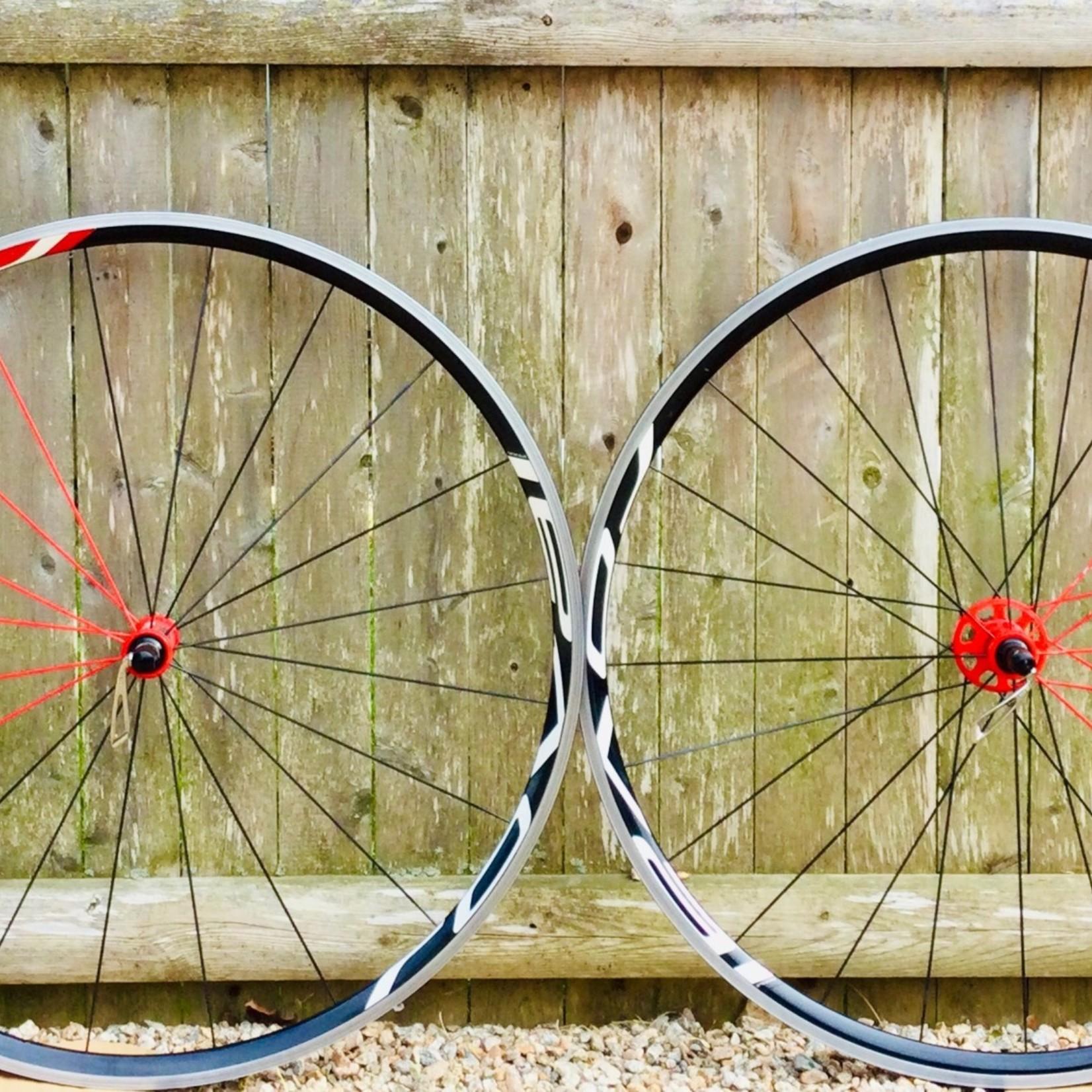 Roval Roval Fusee SLX Wheel Set Black/Red USED
