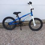 "Diamondback Diamondback Viper Mini 16"" Blu/White BMX Bike USED"