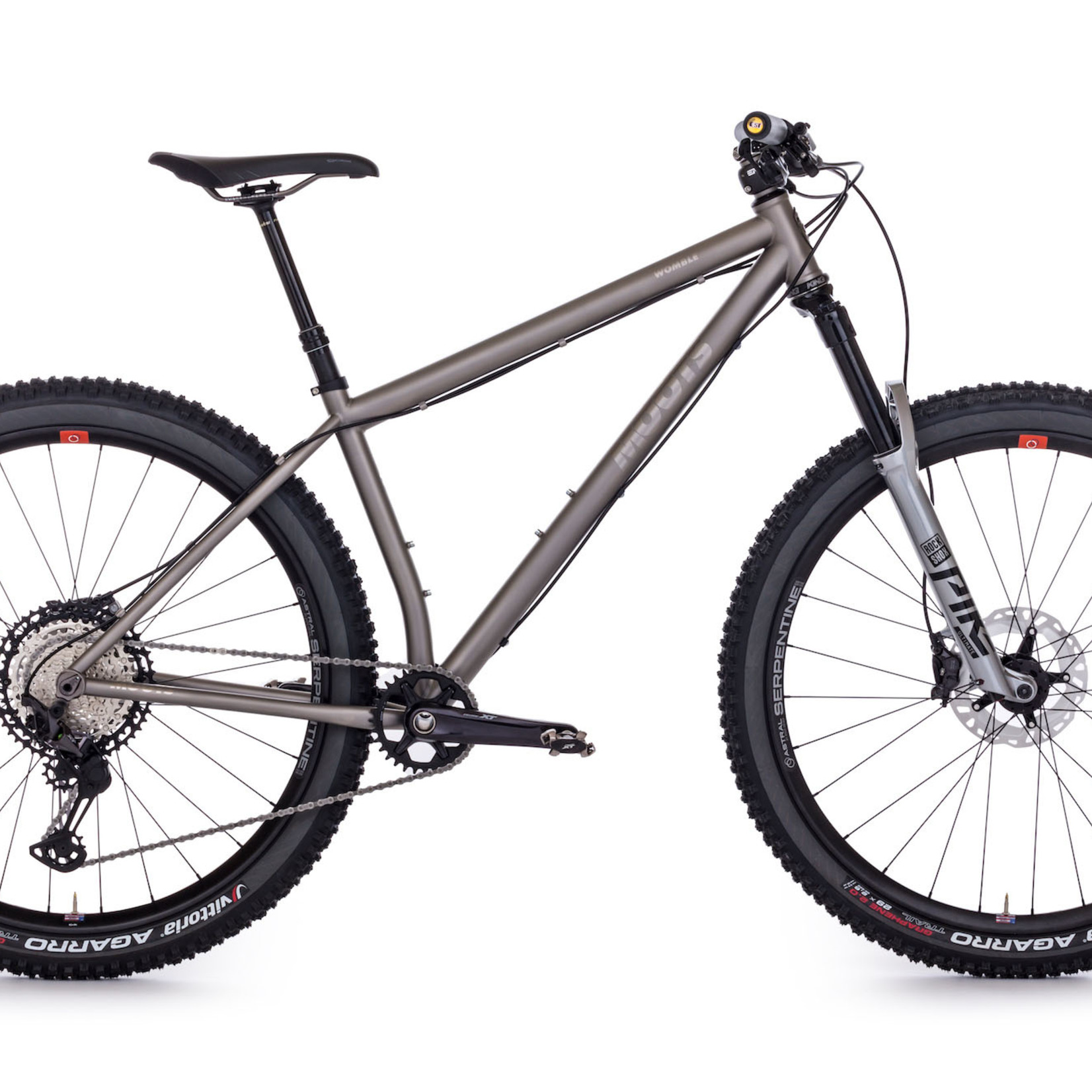 Moots Moots Womble Large Brushed w/XT M8100, Astral Serpentine