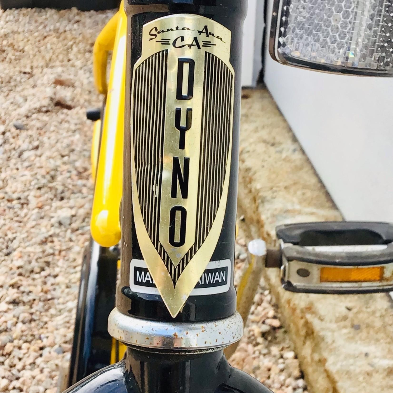 "Dyno Dyno-Glide 24"" Yellow and Black USED"