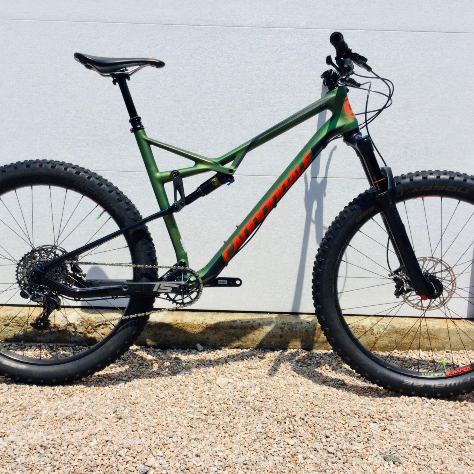 Cannondale 2017 Cannondale Bad Habit Carbon 2 Green XL USED