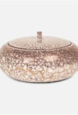 Made Goods Amelia Bowl Crackled Mauve