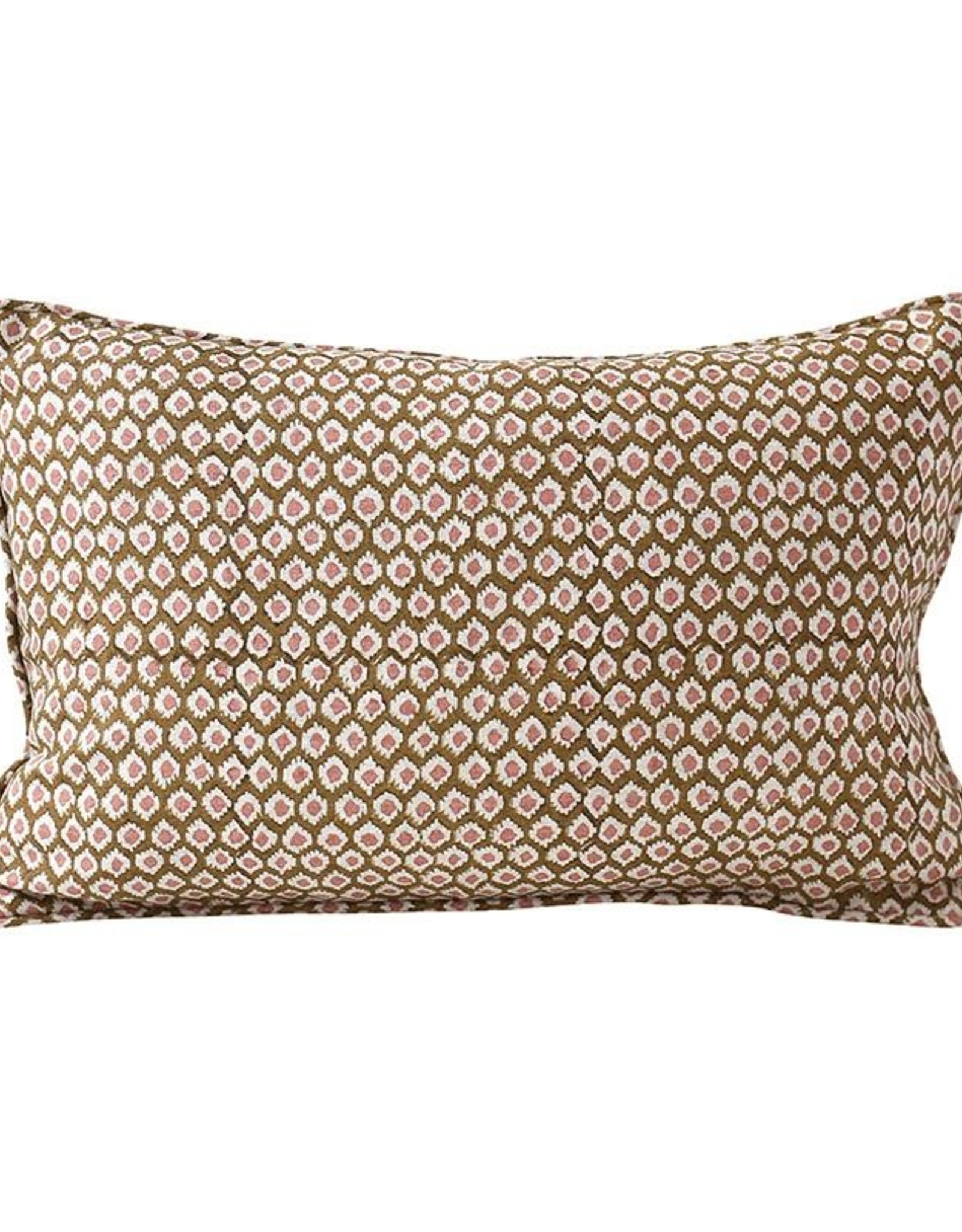 Walter G Patola Linen Pillow