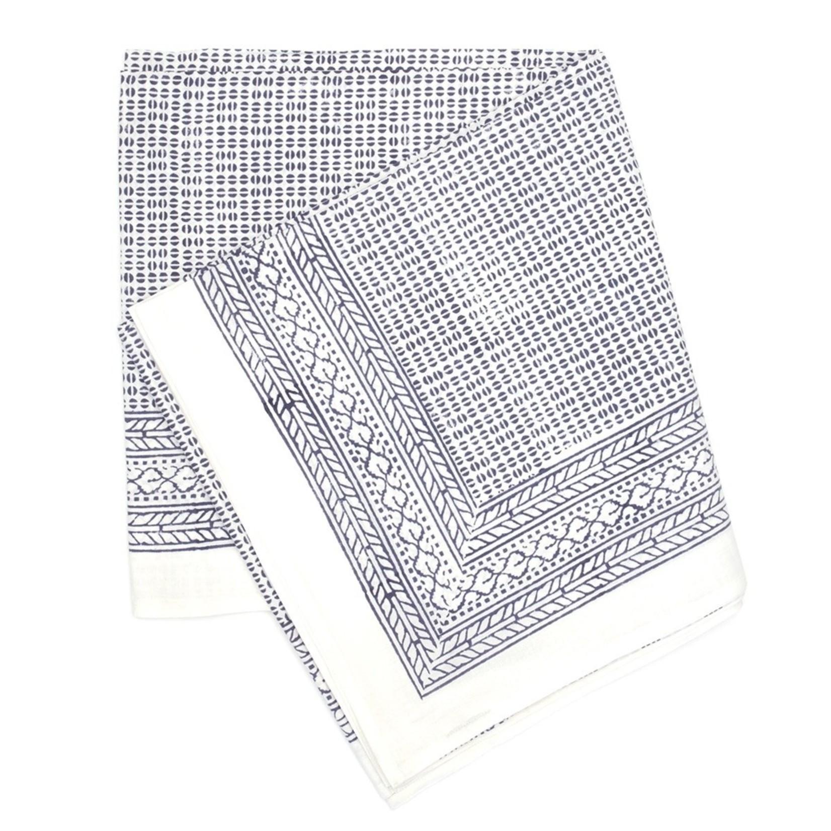 Fig & Bella Block Printed Tablecloths