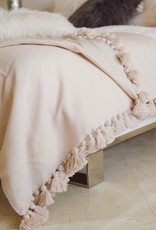 Scents and Feel Pompom Throw