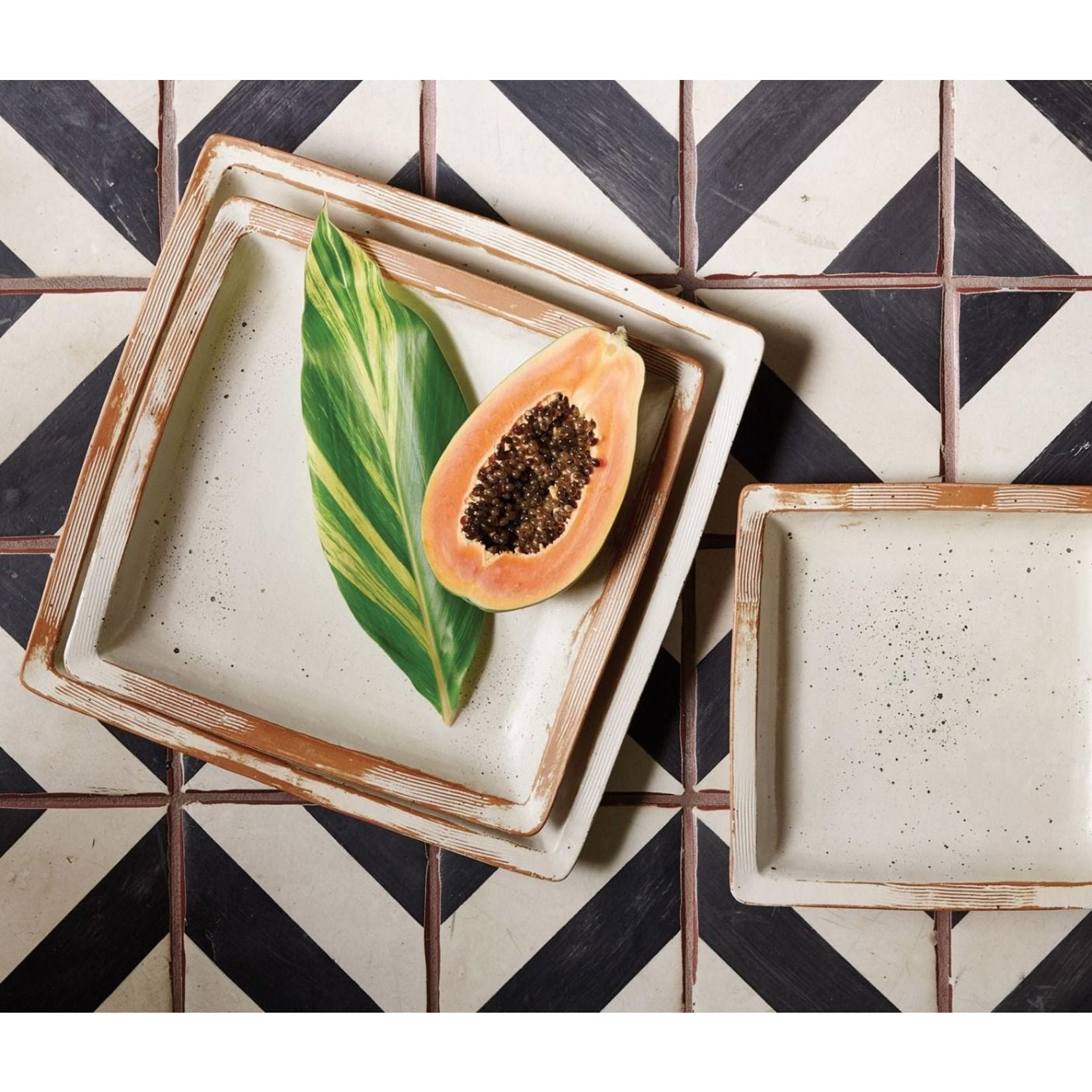 Blue Pheasant Dawson Square Serving Platter
