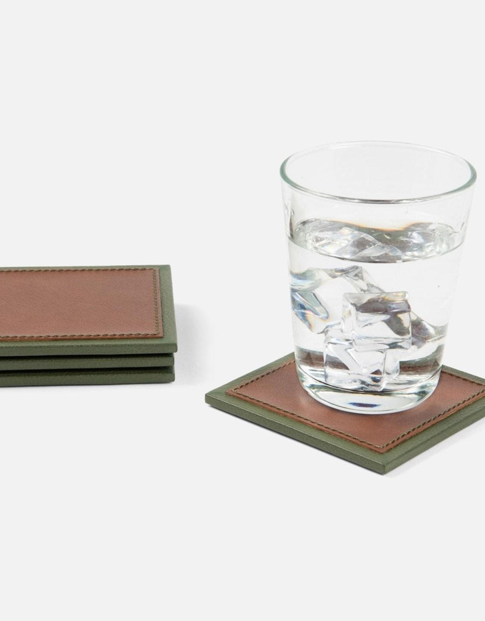 Blue Pheasant Graham Coasters - Set of 4