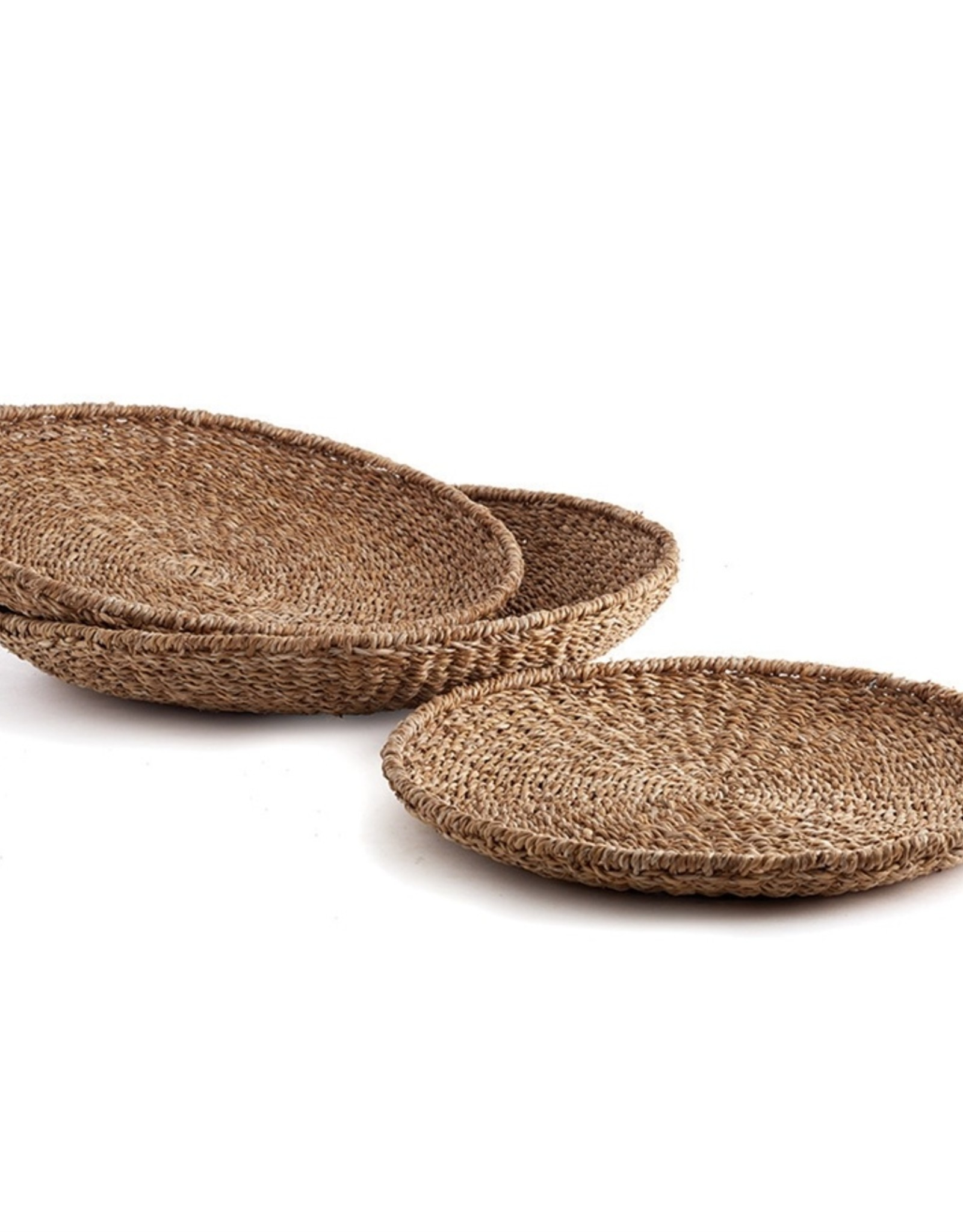 Napa Home and Garden Seagrass Round Trays