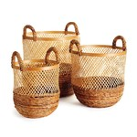 Napa Home and Garden Kolaka Round Baskets