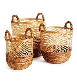Napa Home and Garden Kolaka Round Baskets