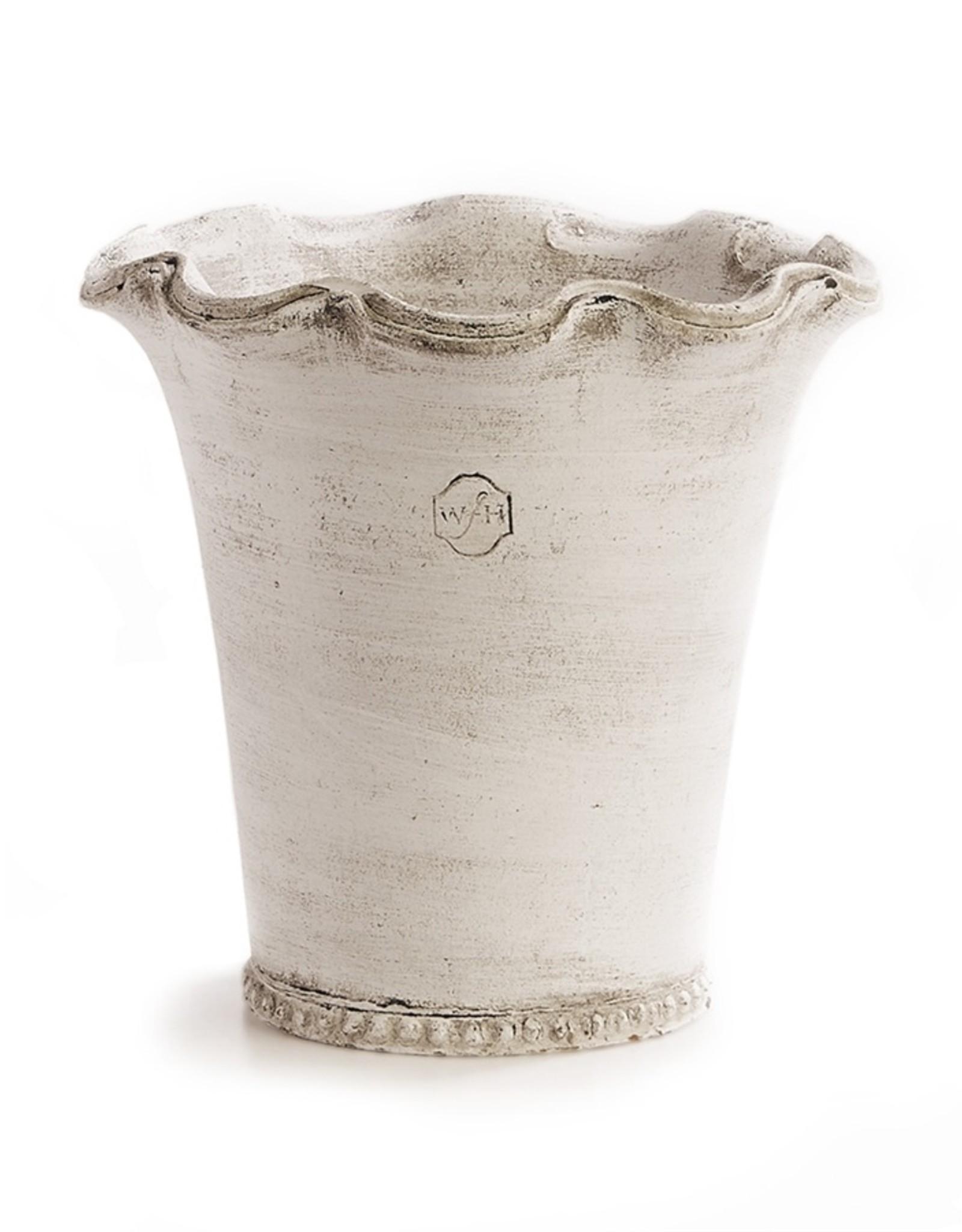 Napa Home and Garden Wakefield Handmade Festonee Vase