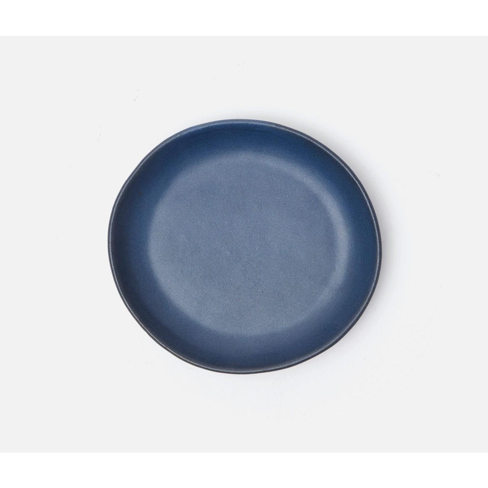 Blue Pheasant Marcus Matte Navy Dinnerware