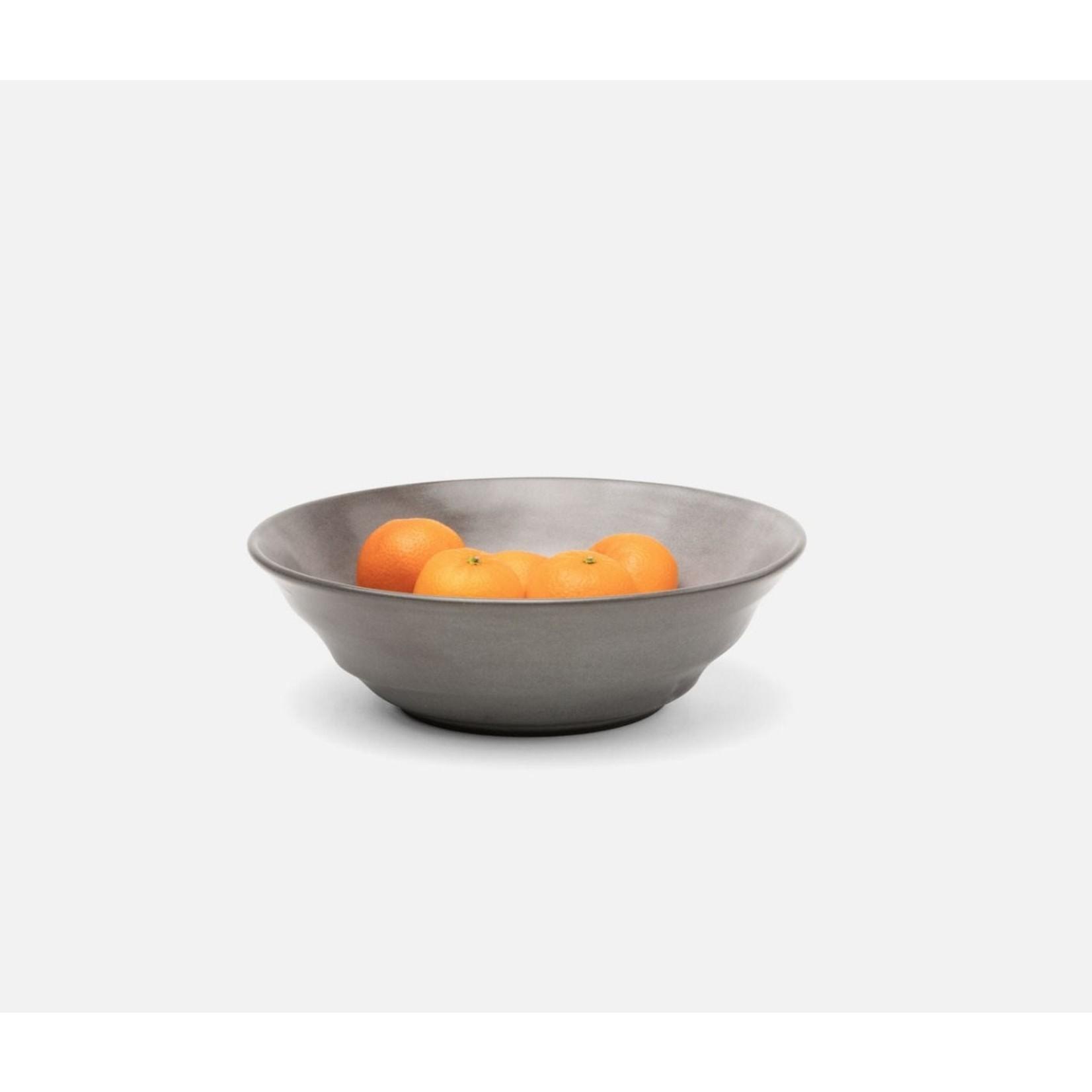 Blue Pheasant Marcus Cement Glaze Serving Bowl