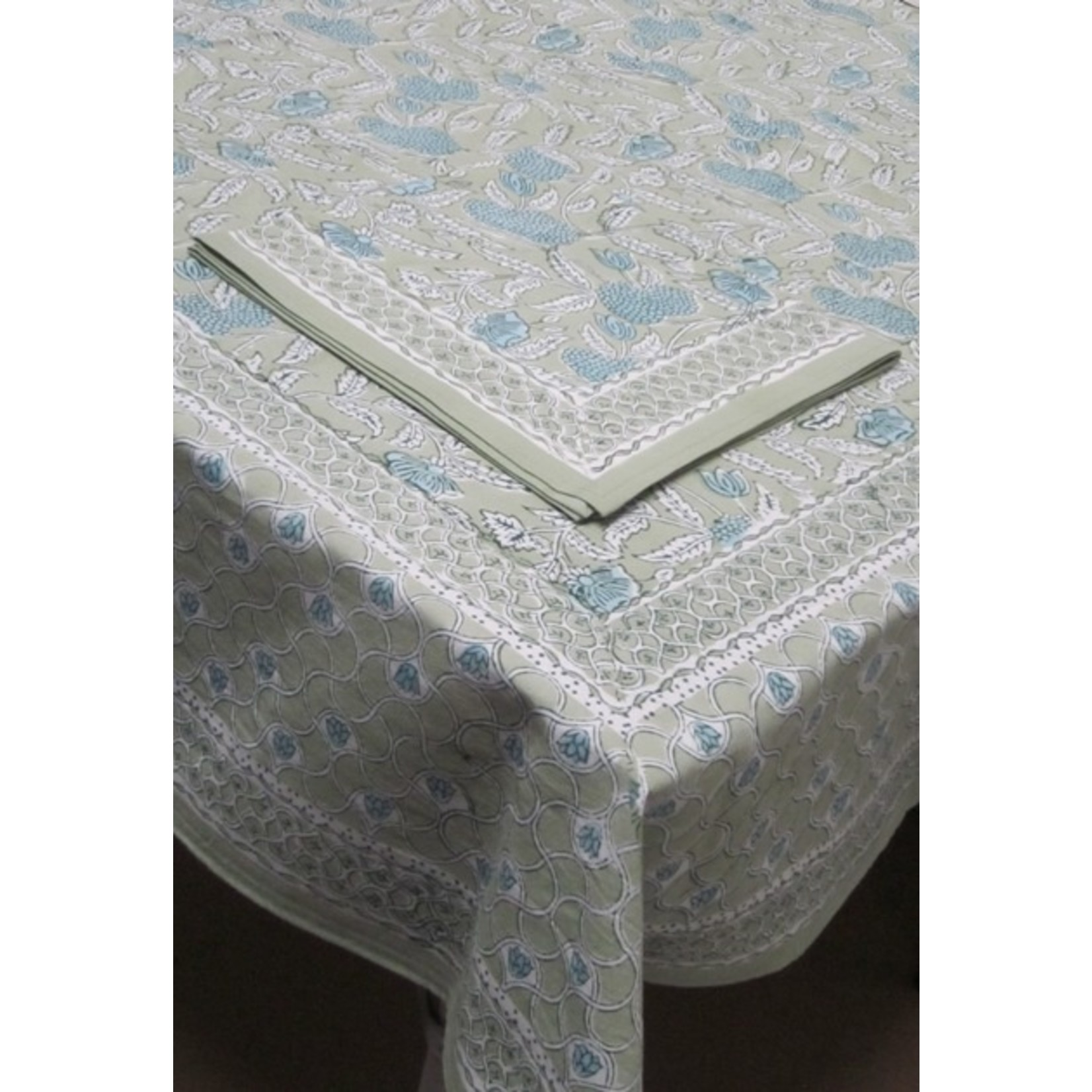 Natural Habitat Block Tablecloth
