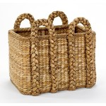 Mainly Baskets Rectangular Rush Basket - Large