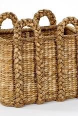 Mainly Baskets Rectangular Rush Basket - Large