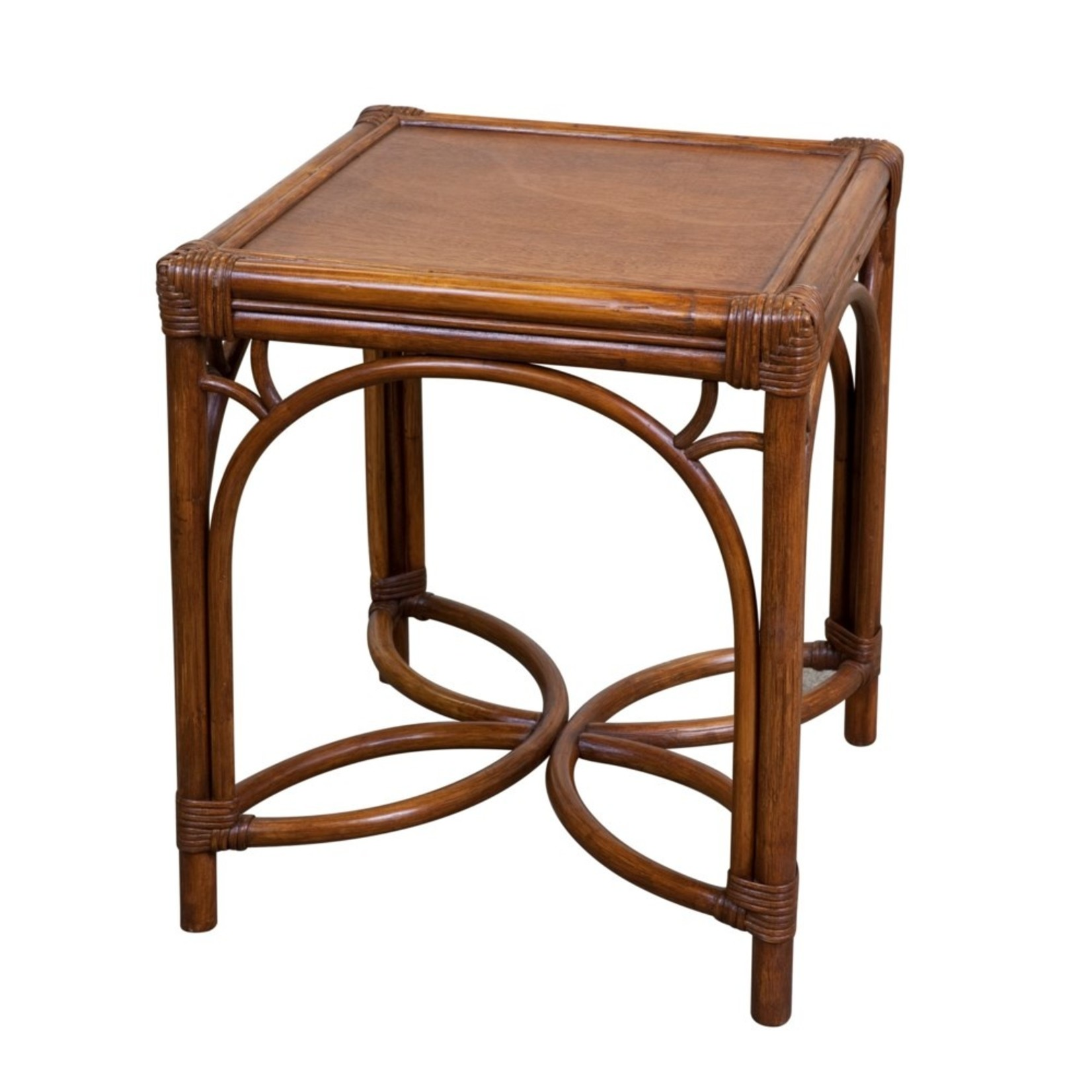 Mainly Baskets Gracie Side Table - Chestnut