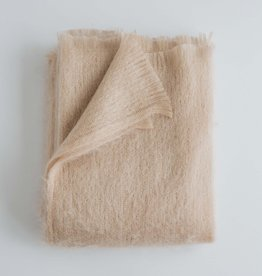Evangeline Linens Mohair Throw