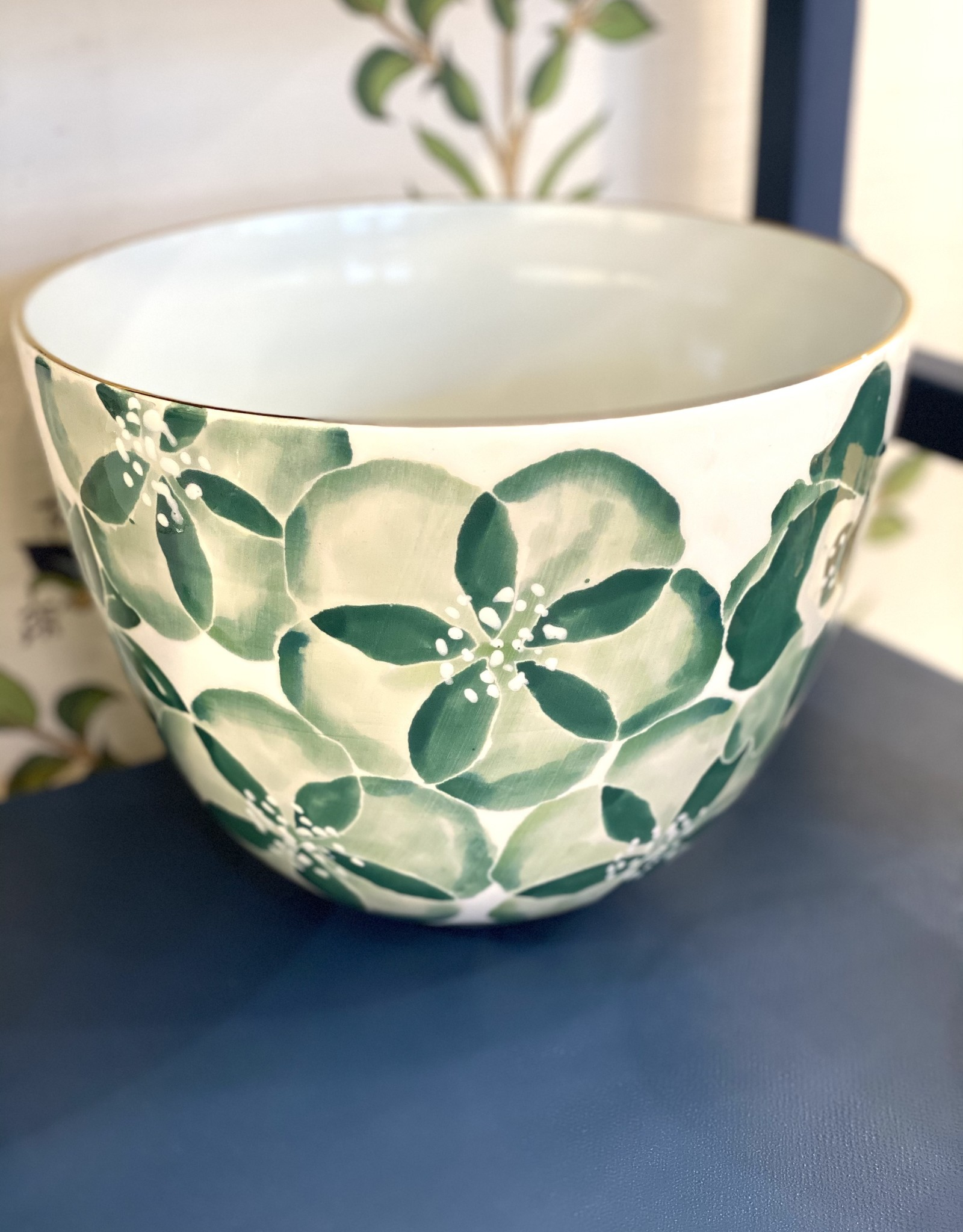 Jill Rosenwald Medium Bee Bowl - Pripet/Peacock