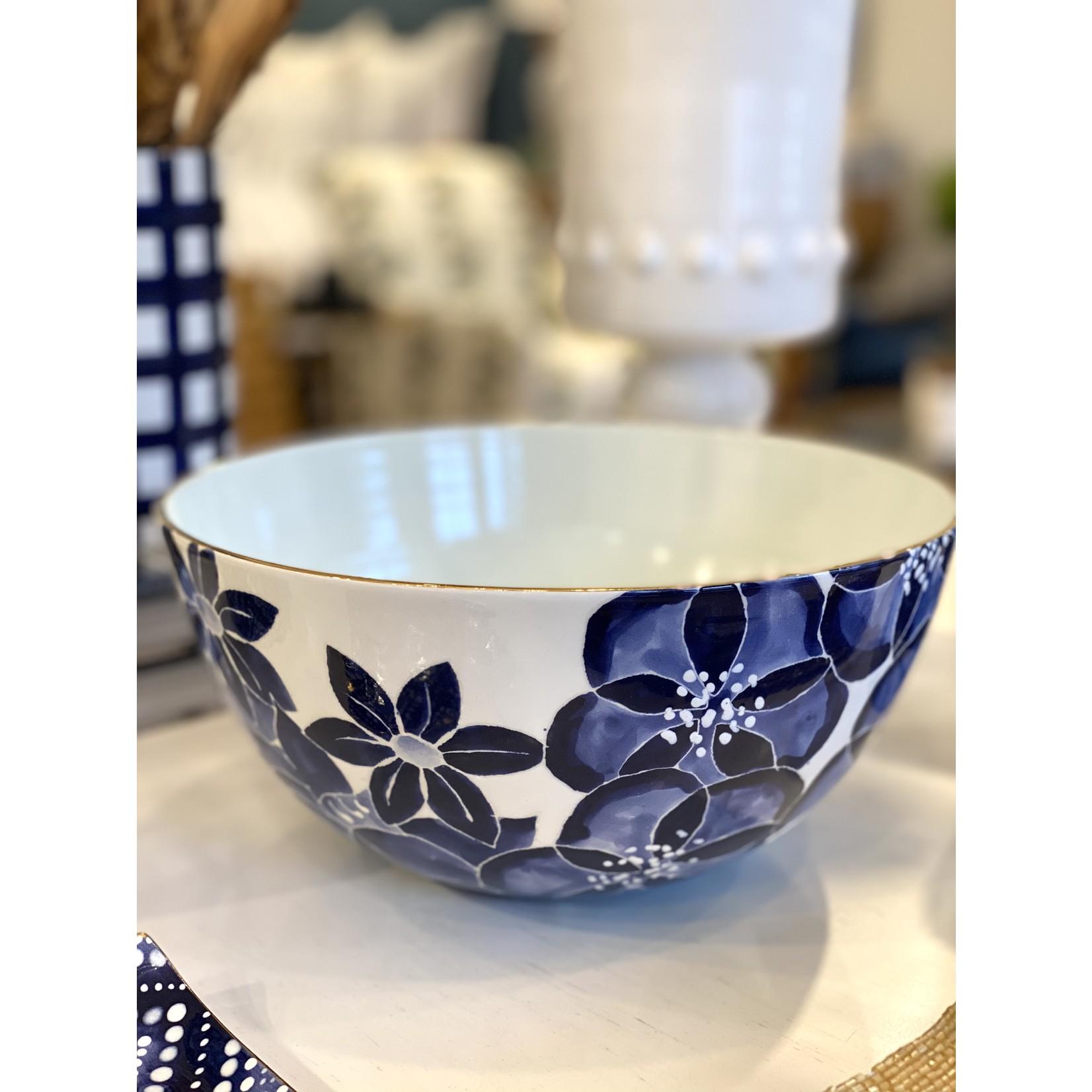 Jill Rosenwald Large Bowl - Pripet/Delft