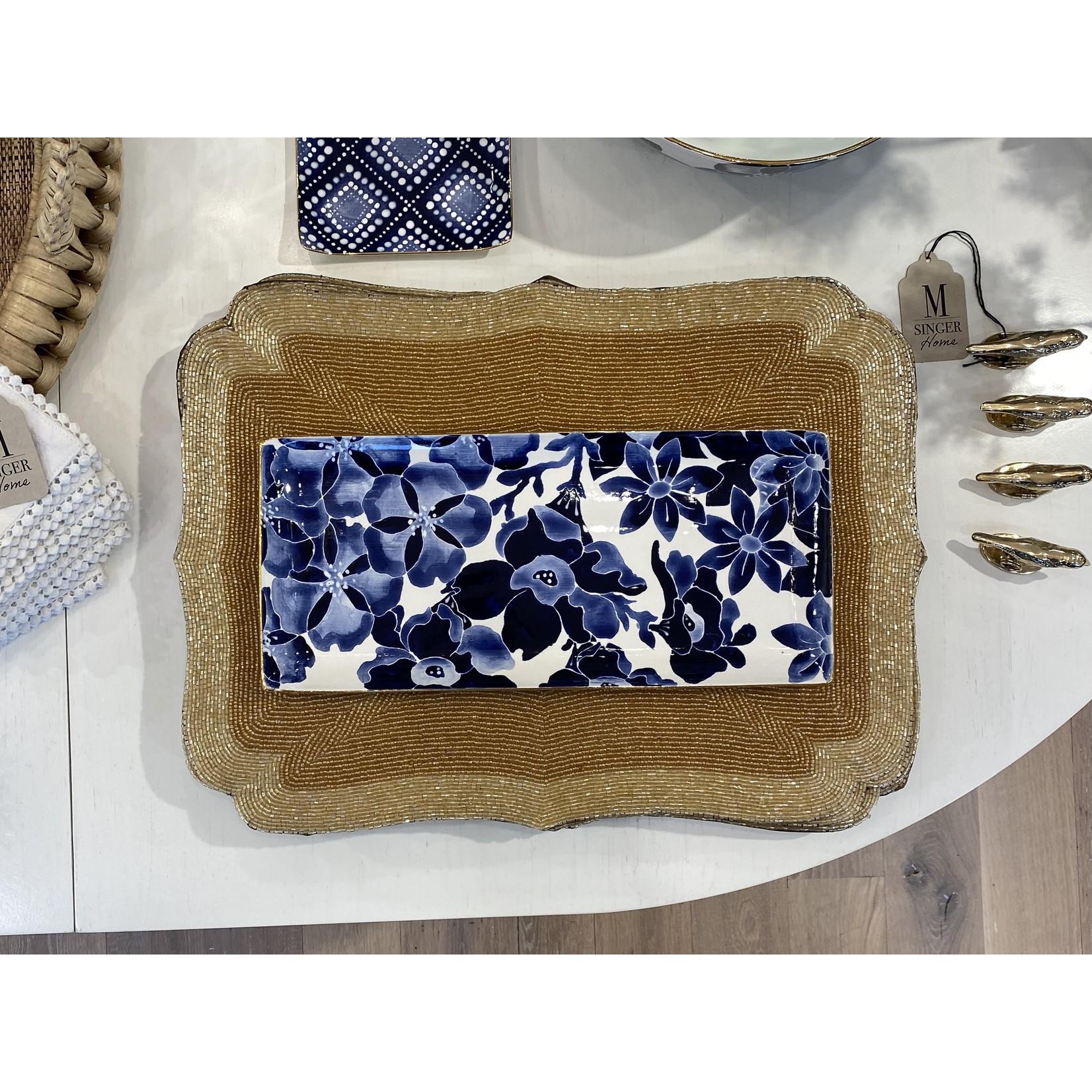 Jill Rosenwald Cocktail Tray - Pripet/Delft