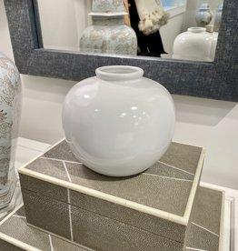 Middle Kingdom Porcelain Jade Ring Vase