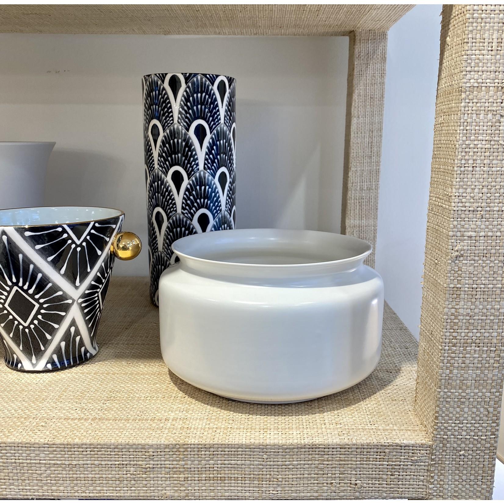 Middle Kingdom Porcelain Persimmon Vase