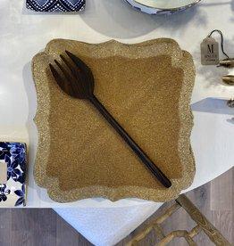 Itza Wood Serving Fork (Large)
