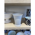 Middle Kingdom Conical Flower Pot w/ Saucer