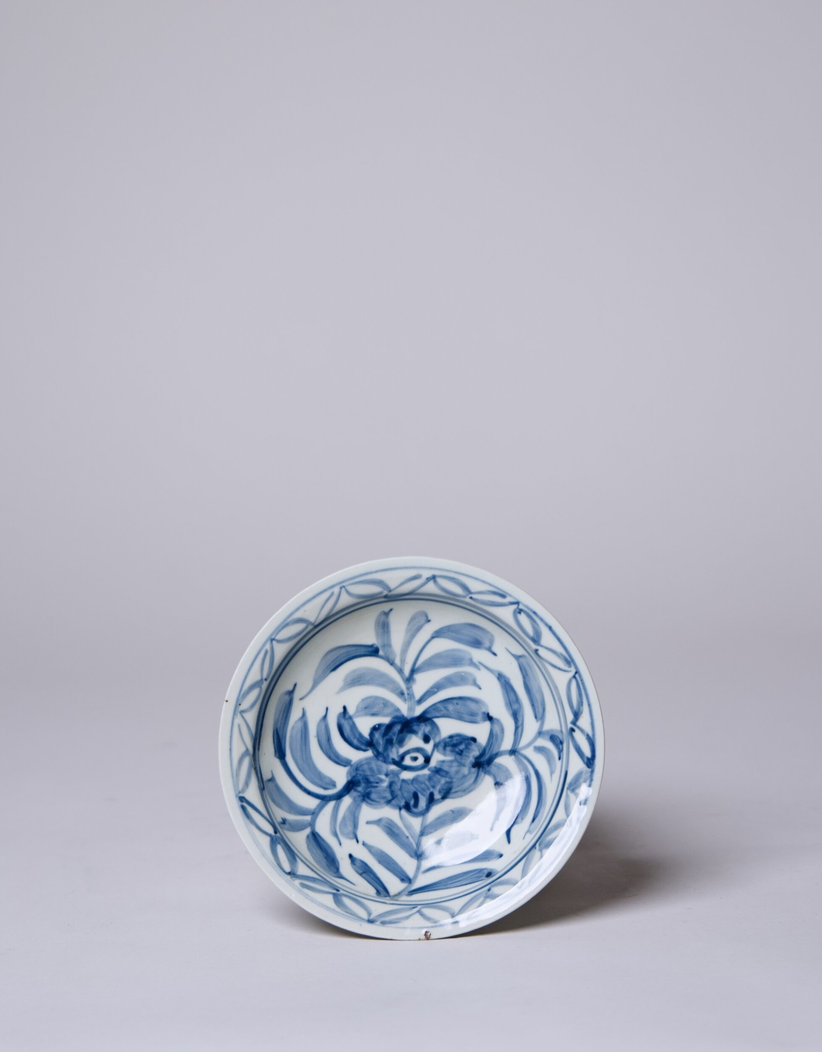 Cobalt Guild Small Floral Dish