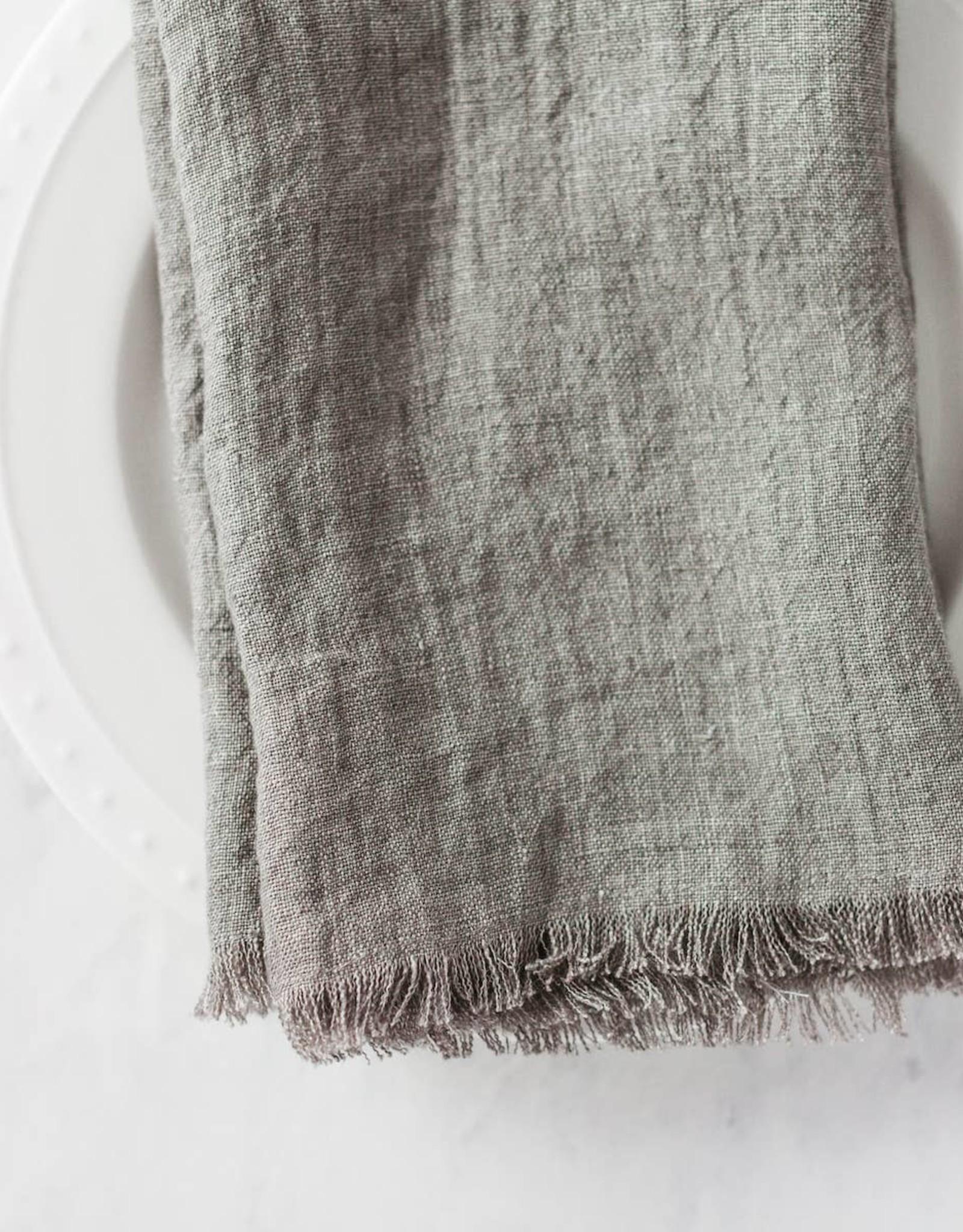 Creative Women Stone Washed Linen Dinner Napkin