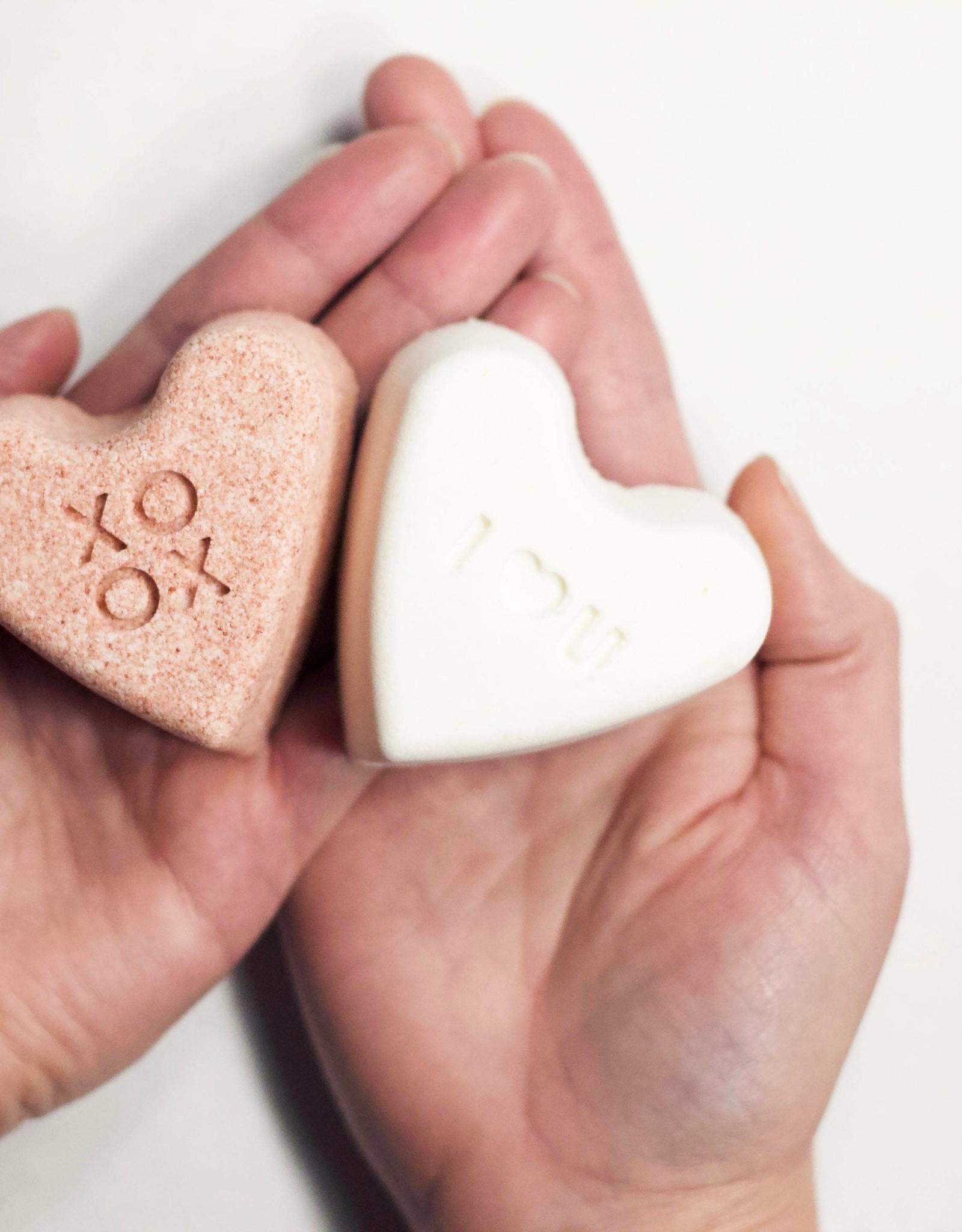 Rock Creek Soaps Heart Bath Bombs