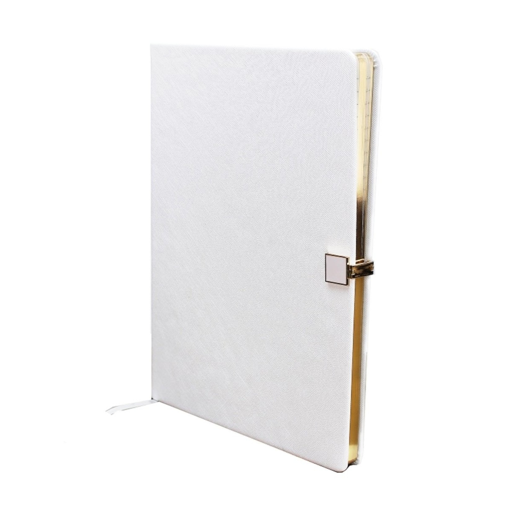 Addison Ross White & Gold A4 Notebook