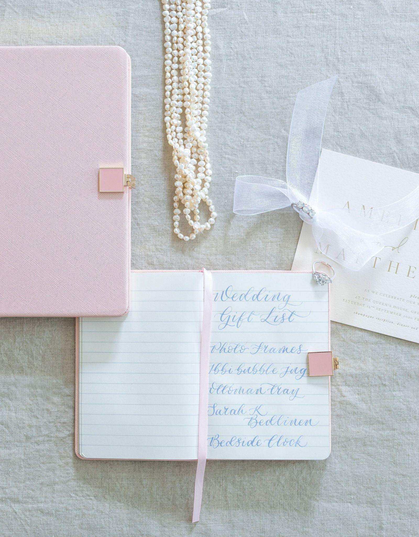 Addison Ross Pink & Gold A4 Notebook