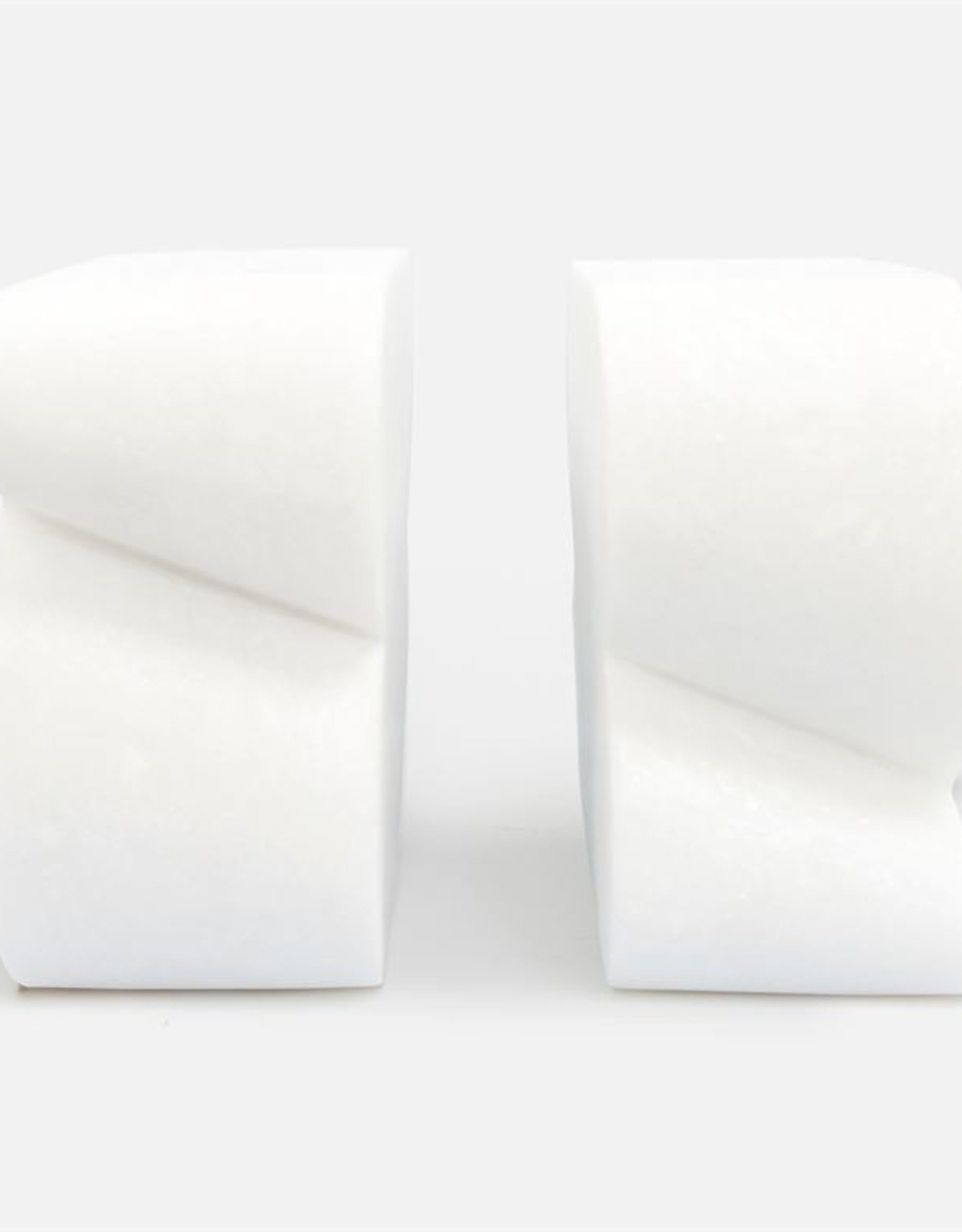Made Goods Calysta Marble Bookends - Set of 2
