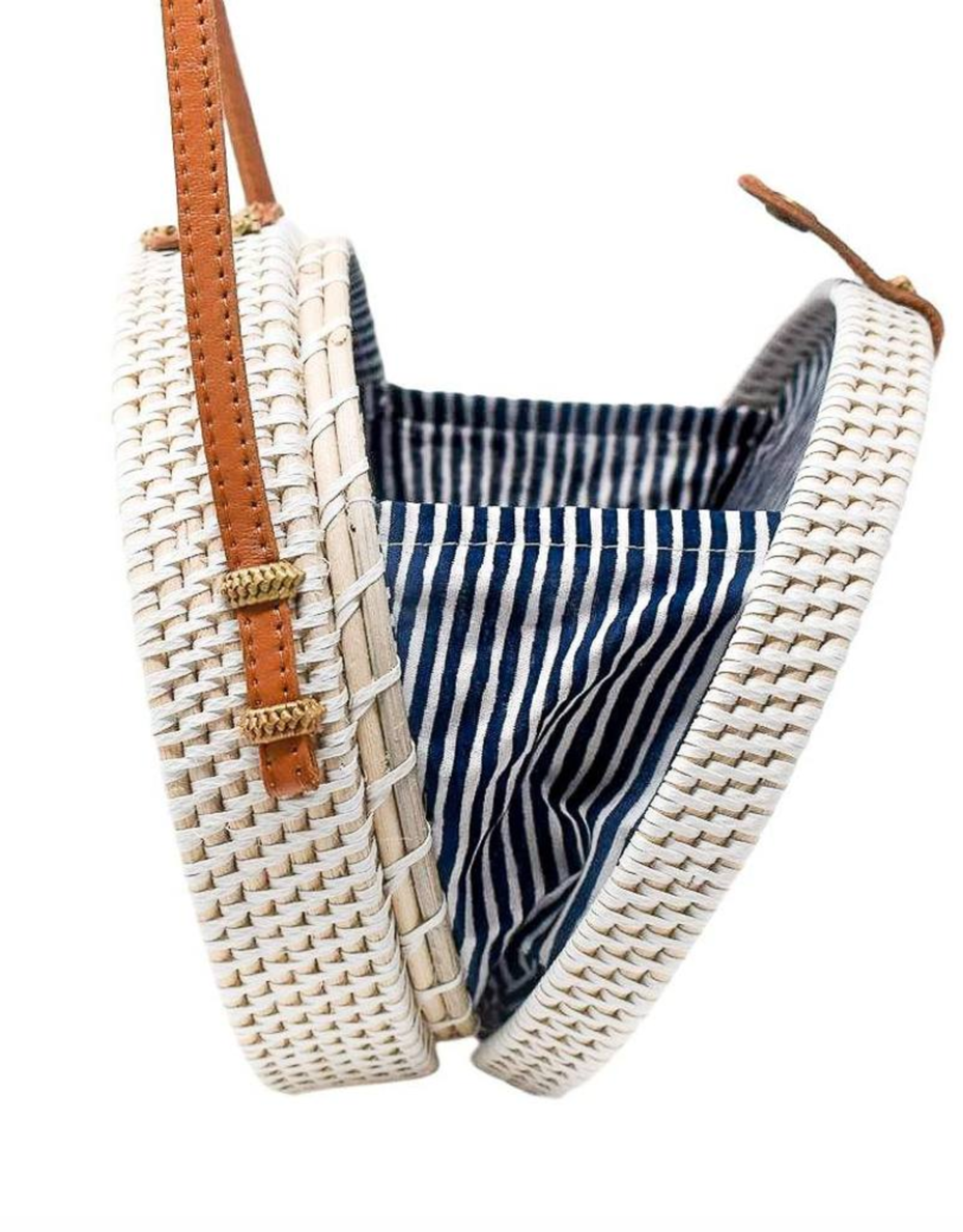 Poppy + Sage Camilla Bag - Nantucket Navy Stripe