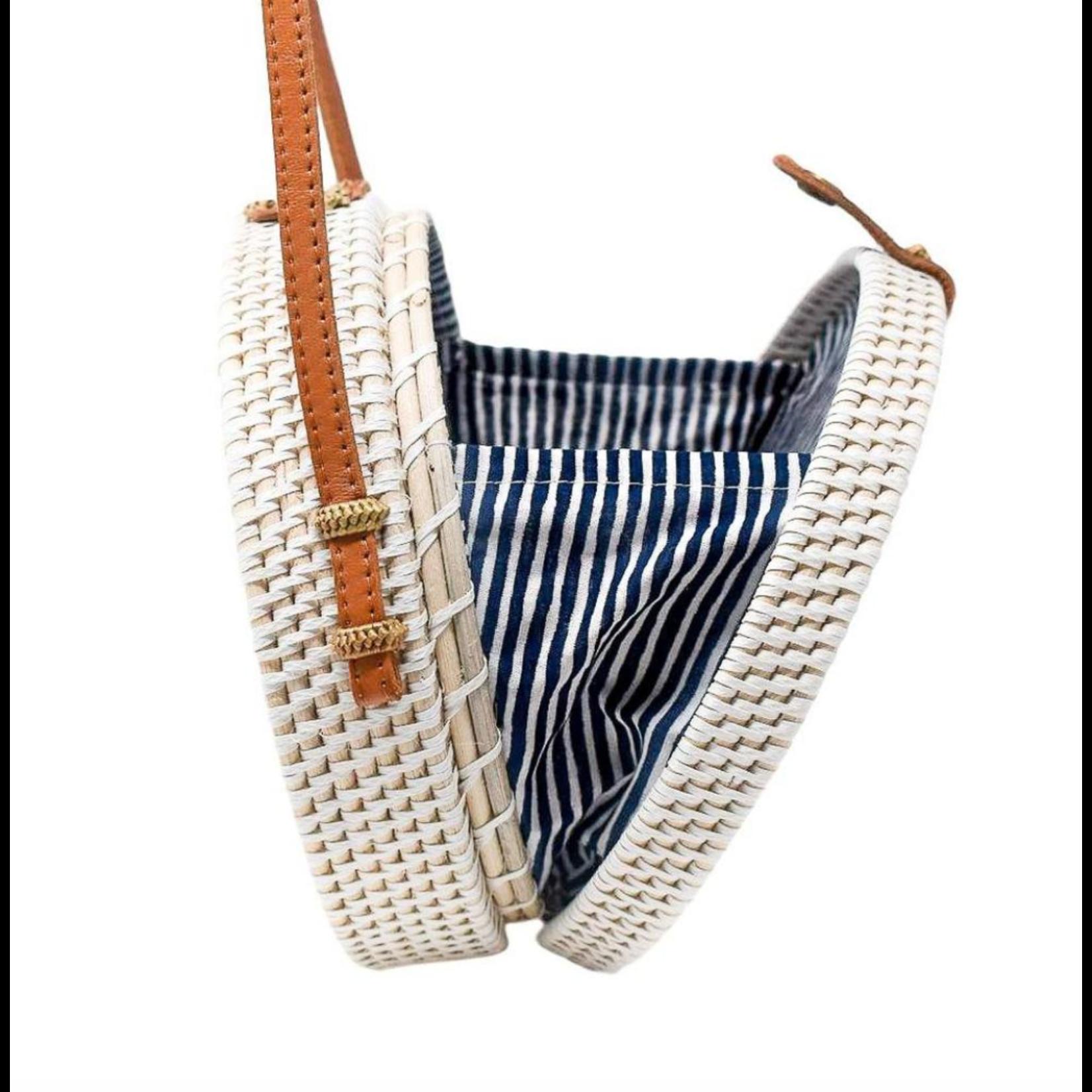 Poppy + Sage Camilla Bag - Nantucket Navy Stripe