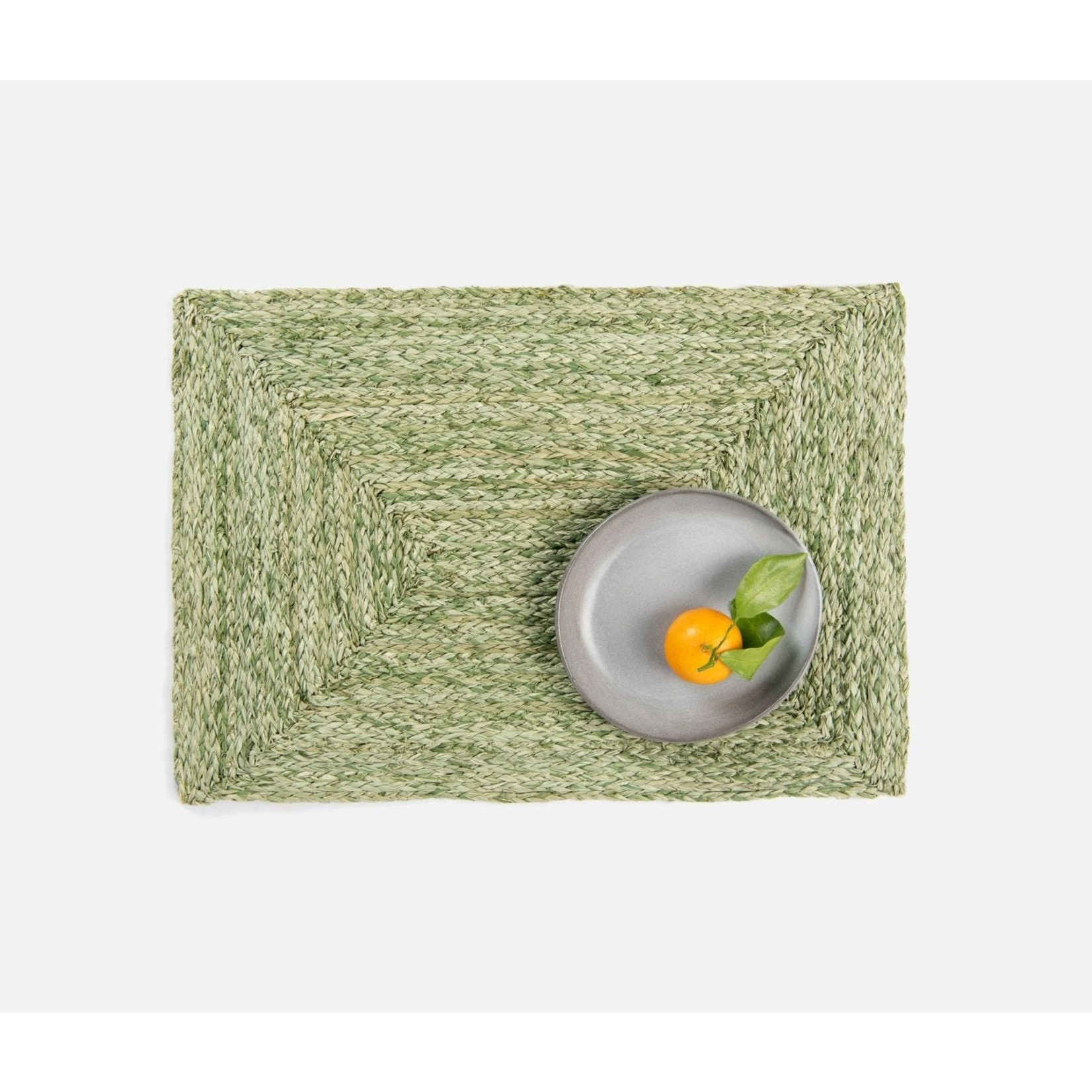 Blue Pheasant Zoey Pale Green Placemats - Set of 4
