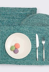 Blue Pheasant Zoey Mixed Blue Placemats - Set of 4