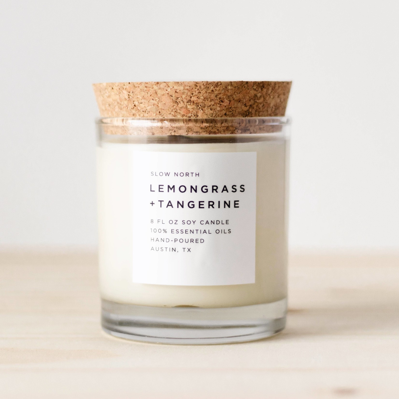 Slow North Hand-Poured Frosted Candles