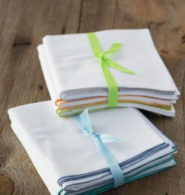Dot and Army Flour Sack Towels - Set of 3